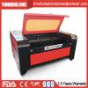 El corte de madera del laser forma el precio de la máquina para el acrílico de madera de las lanas