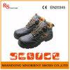 Крышка пальца ноги буйвола кожаный стальная для молотка черноты ботинок безопасности