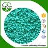 Fertilizante de NPK de composto granulado com alimentos vegetais 25-5-5