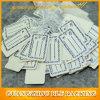 La coutume a imprimé des étiquettes de coup de bijoux