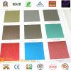 PVDF Gloden Rojo Metalizado Color de la bobina de aluminio recubierto de