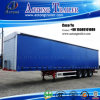 2/3 Axles Tarpaulin Curtain Side Semi Trailer for Saudi Arabia