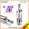 La mode 2014 neuve G-A heurté les vaporisateurs K1 en gros avec le réservoir en verre