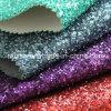 Matt Grit Glitter PU Cuero sintético brillo Tela