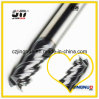 Stainless Steel를 위한 Changzhou 4 Flutes Tungsten Carbide End Milling Cutters