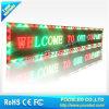 Messaggio esterno che sposta lo schermo di visualizzazione del LED