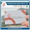 Cartão PVC VIP de PVC Semi-Transparente