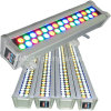 Fileiras dobro 36W DMX512 do RGB da arruela da parede do diodo emissor de luz