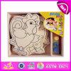 2014 de nieuwe Jonge geitjes spelen Kleurrijk het Schilderen Stuk speelgoed, Kleurrijk het Schilderen van Kinderen Popualr Stuk speelgoed, Heet Kleurrijk het Schilderen van de Baby van de Verkoop DIY Speelgoed W03A070