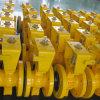 Reparto de la válvula de bola con bridas de acero V-Port