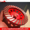 Turbo Diamond Cup Wheels pour Polishing Stone et Concrete