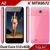 Mtk6572は二重スタンバイのXld A2の携帯電話SIMのカードの二倍になる