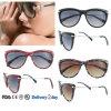 Уф400 Защита солнечные очки последние модели солнцезащитных очков оптовой дамы солнечные очки