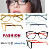 De met de hand gemaakte Glazen van de Frames van Eyewear van de Acetaat Recentste Optische