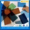 Fabrication de chaînes en gros Verre de sécurité en verre décoratif coloré en stratifié pour clôtures de piscine