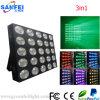 Iluminación del efecto de etapa de la matriz de DJ 25*10W LED RGBW de la venta de la fábrica