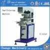 Impressora automática da almofada com o transporte para a venda