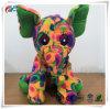Supports d'impression par sublimation de fleurs colorées farcies éléphant un jouet en peluche