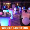 Festa de casamento Eventos LED cor luminosa mesa de cocktail