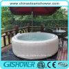 Adultos plegable computarizado de bañera de burbujas de aire (pH050011 gris)