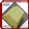 Bande de laines de verre de matériaux d'isolation