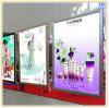 Aluminium Slim LED Light Box pour Artwork Show (A0)
