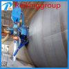 Machine durable de grenaillage de mur extérieur de pipe en acier de qualité