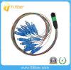 Multimode Kabels van 50/125 Verbindingsdraad van de Vezel Sc-MPO