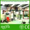 세륨은 1-2 T/H 판매를 위한 작은 사료 공장 플랜트를 완료한다