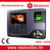 Sistema biométrico do comparecimento do tempo da impressão digital de Realand