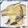 Il metallo cattivo di placcatura 3D dell'argento e dell'oro commemora il distintivo