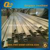 Pipe de grand dos d'acier inoxydable (rectangle) (tube)