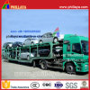 2-essieu-4 roues Skeleton Type Car Transport Semi Truck Trailer (8 voitures)