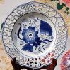 Placa antigua china Pl-11 de la porcelana