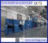Equipo de fabricación de la protuberancia de cable coaxial de la comprobación que hace espuma automática