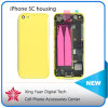 Reemplazo Parte Battery Cover Door Middle Frame Assembly Back Full Housing para el iPhone 5c Yellow de Apple