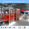 Bloque de cemento automático Qt8-15 que hace la máquina con control del PLC