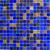 De Blauwe Kleur van de Tegel van het Mozaïek van het Glas van de Kleur van de mengeling (MC219)