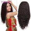 Peluca profunda del frente del cordón de la onda de la peluca del pelo humano del 100%