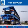 Voertuig 4 van de titaan Flatbed Semi Aanhangwagen van Assen met HoofdRaad voor Verkoop