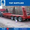 Titan Tri-Axle Faible 60 tonnes faible de la remorque de lit Lit Lowbed remorque de camion semi-remorque