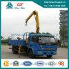 Crane Lifting Capacity 5 Ton를 가진 DFAC 4X2 Truck