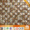 Geométrica Chapado de oro de fundición de vidrio mosaico de la pared (H623004)