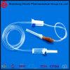 Lle parti saline a gettare mediche IV dell'insieme di infusione