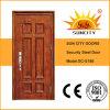El exterior de acero Puerta de hierro forjado puerta principal Diseño (SC-S188)