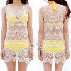 Мода Корейский дизайн кружева Corchet Sexy пляжа Платья (50163)