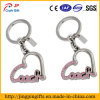 Alta qualidade China Metal Heart Key Chain para Promotional Gifts