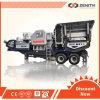 Broyeur mobile de roche d'équipement minier de zénith de la capacité 40-800tph
