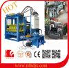 Hydraulische Druckerei-automatischer Betonstein, der Pflanze bildet