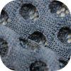 A1764 последней прибыть и бесплатные образцы100% нейлон прозрачные ткани ячеистой сети